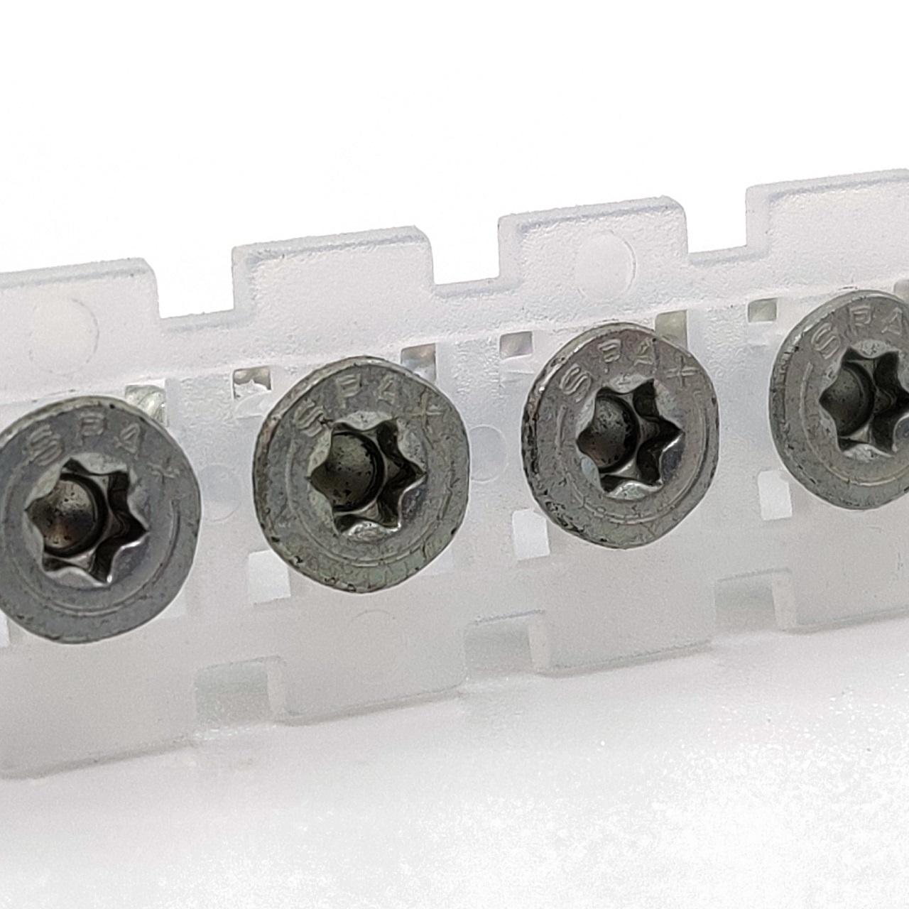 Magazinierte SPAX Universalschrauben | WIROX | TX20 | 4,0x40 | 500 Stk