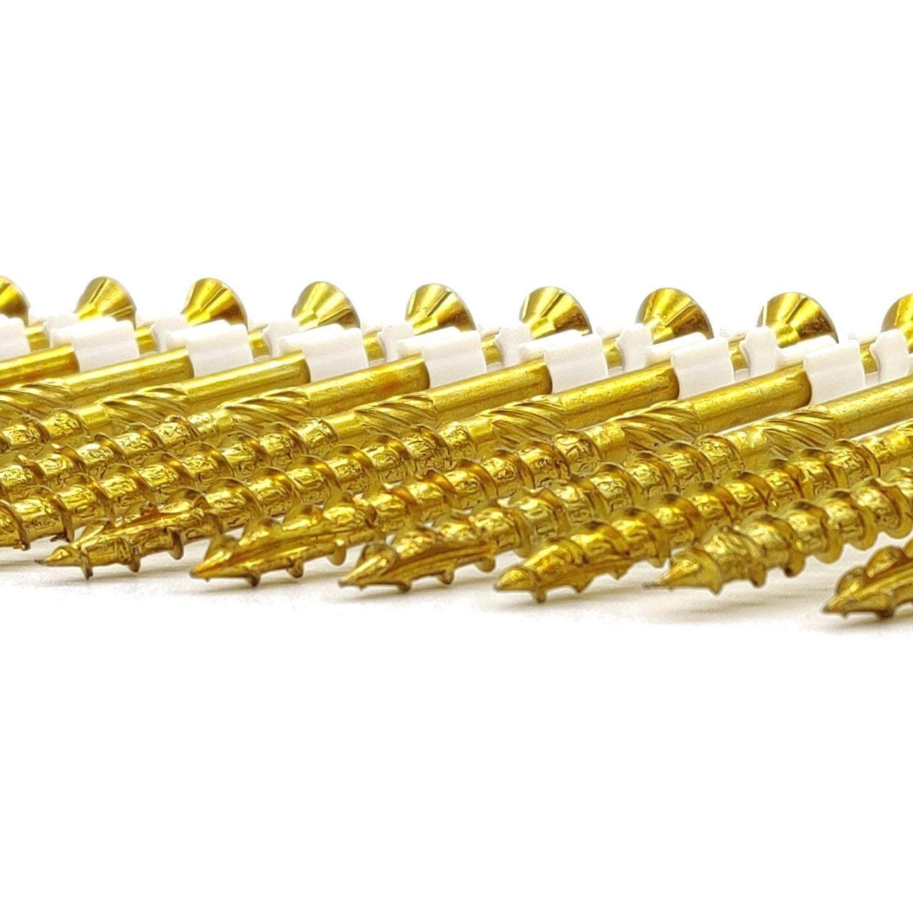 adunox-ONE-XL adunox-SuperUni Holzschrauben | gelb verzinkt | 6,0x80