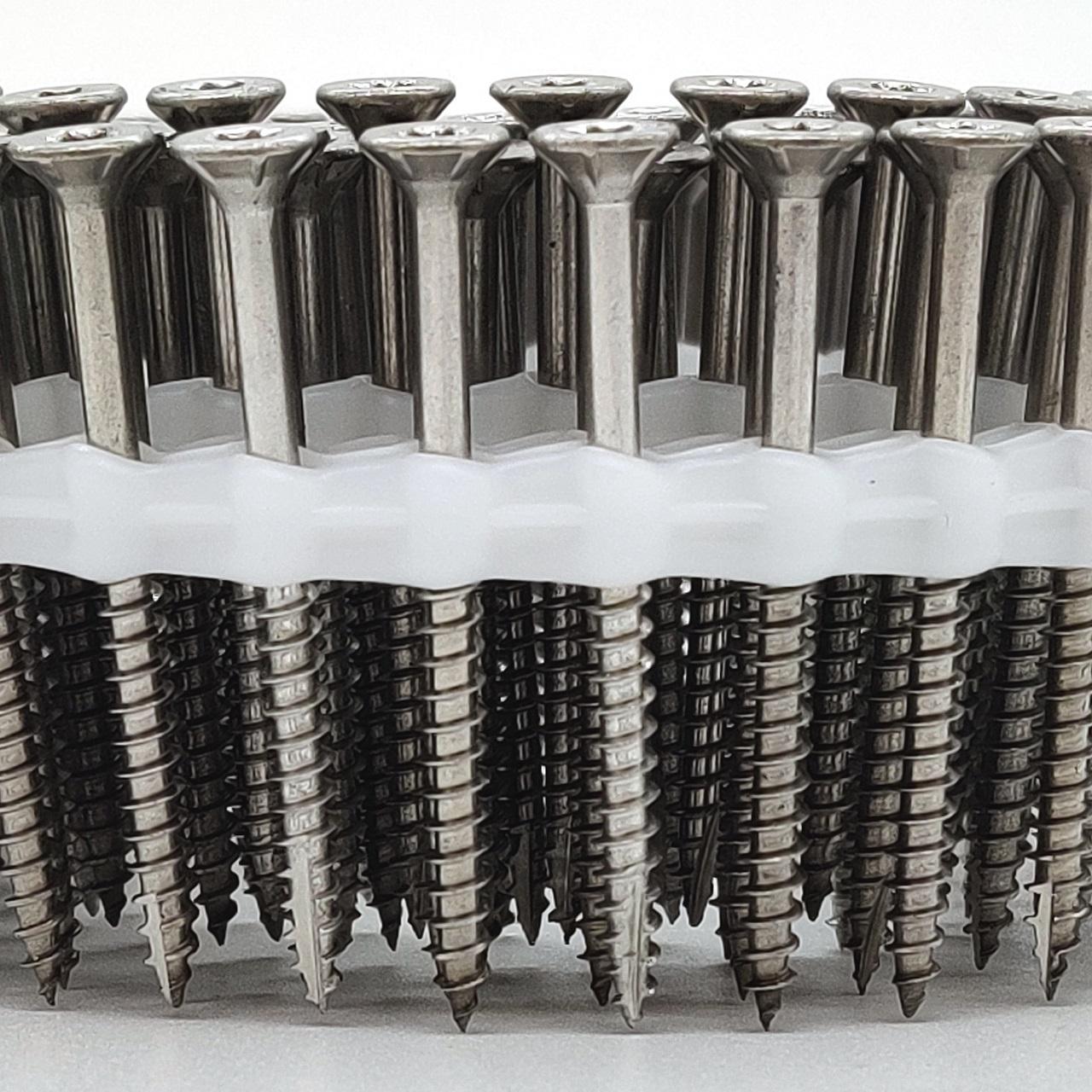 Coil Universalschrauben | rostfrei A4 | Teilgewinde | 5,0x60 | 1.125 Stk