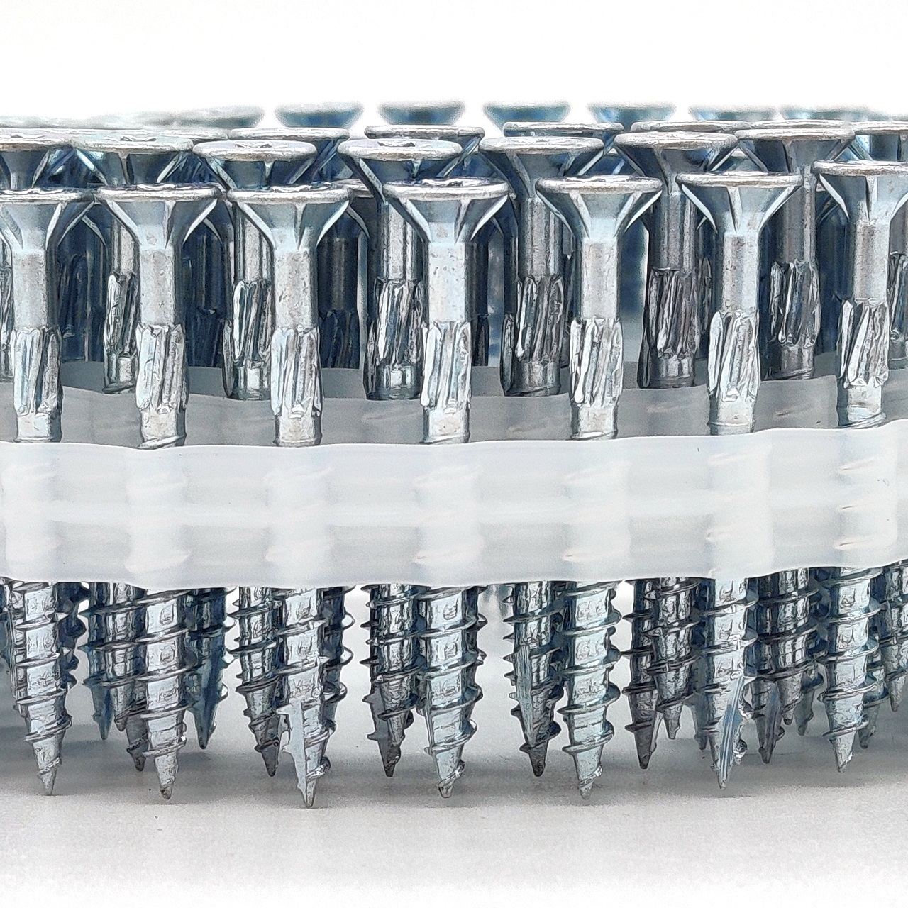 Coil adunox-SuperUni Holzschrauben / Spanplattenschrauben | hell verzinkt | 4,0x30 | 2.500 Stk