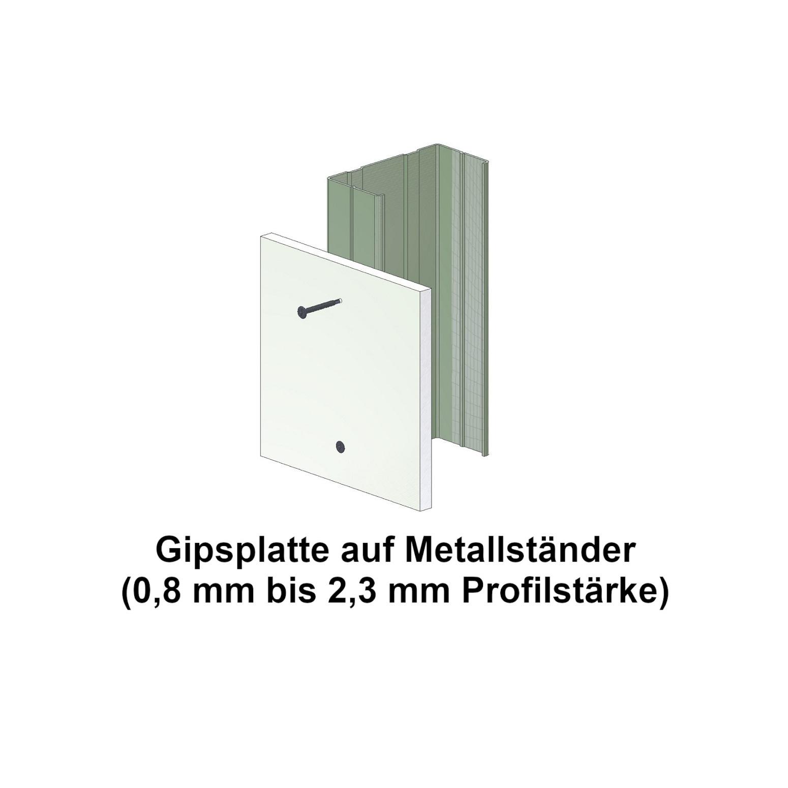 Schnellbauschrauben | phosphatiert | Bohrspitze | 3,5x25 | 1.000 Stk