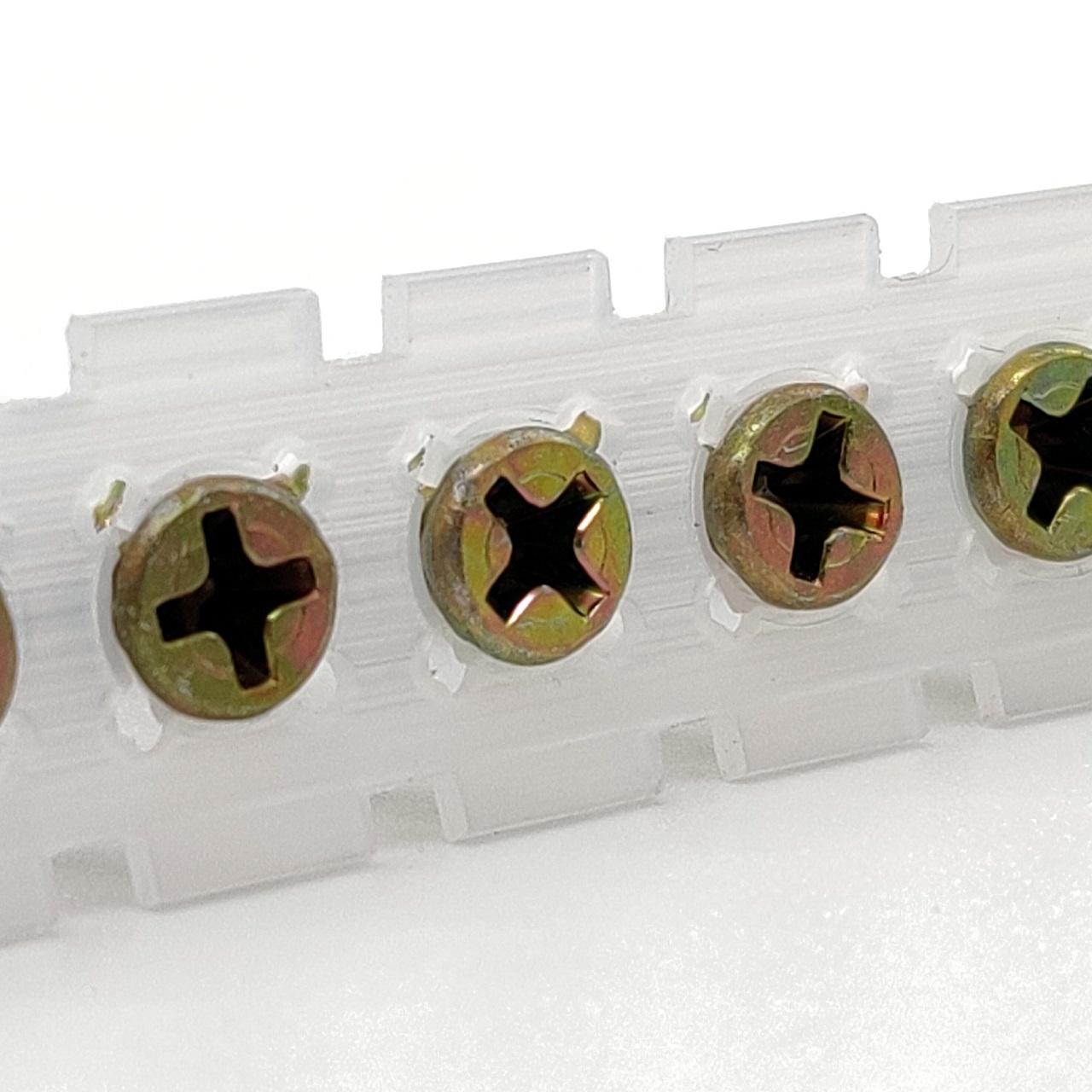Magazinierte Holzbauschrauben | gelb verzinkt | Hi-Lo-Gewinde | 4,2x35 | 1.000 Stk