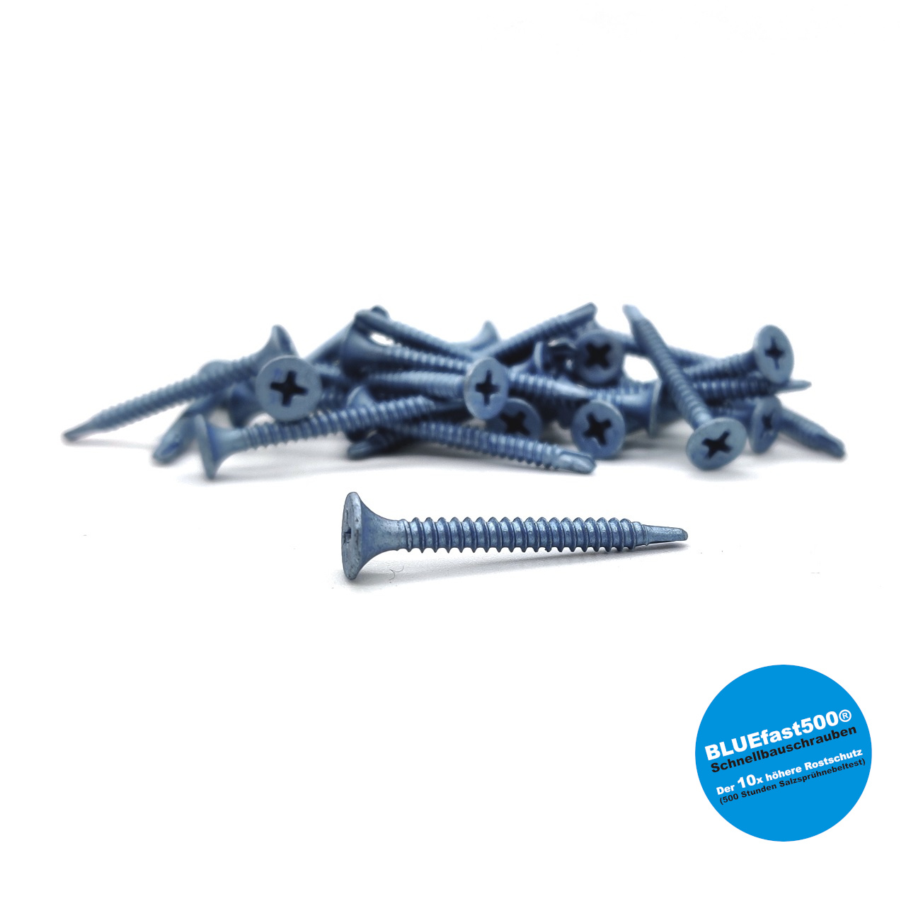 BLUEfast500® Schnellbauschrauben | Bohrspitze | 3,5x35 | 1.000 Stk