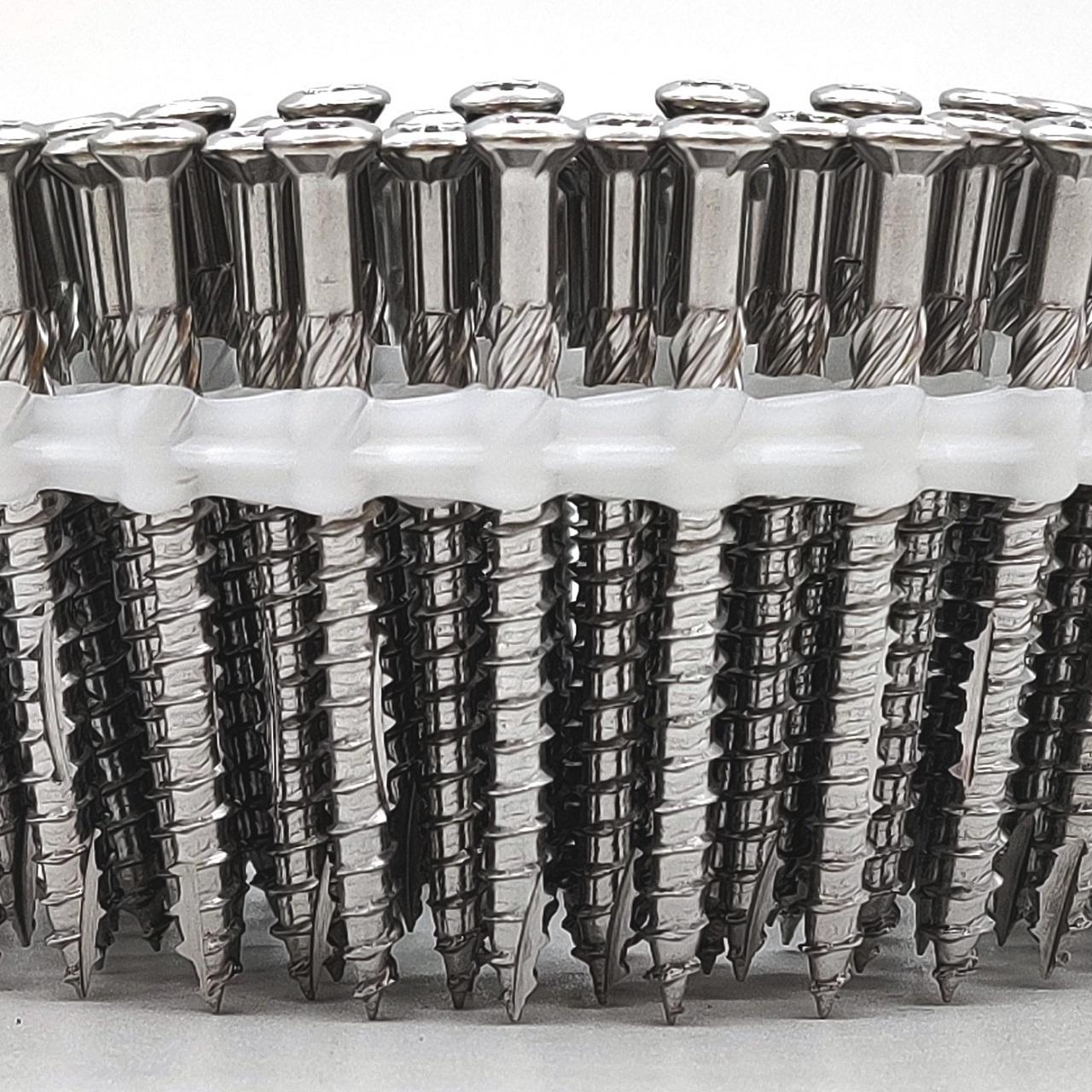 Coil Terrassenschrauben | rostfreier Stahl | Teilgewinde | 5,0x40 | 1.500 Stk
