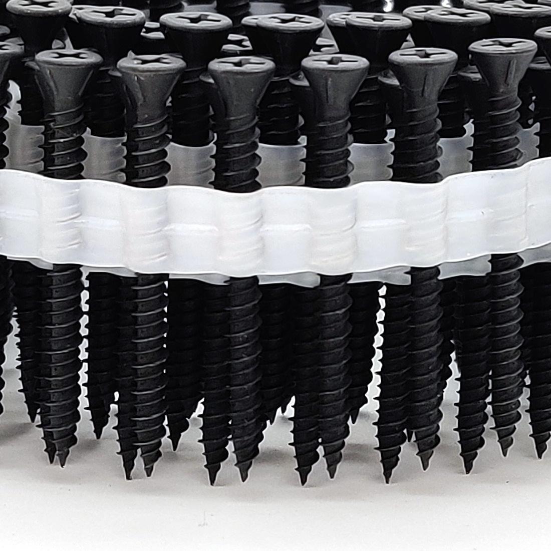 Coil Faserplattenschrauben | phosphatiert | Hi-Lo-Gewinde | 3,9x25 | 2.500 Stk