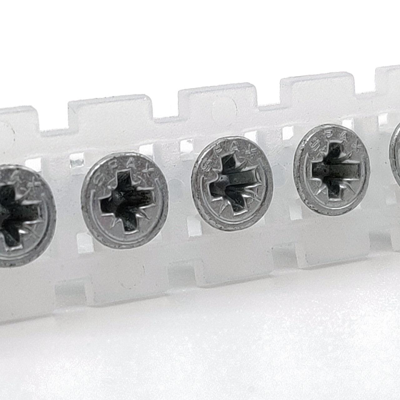 Magazinierte SPAX Universalschrauben | WIROX | PZ2 | 4,0x25 | 500 Stk