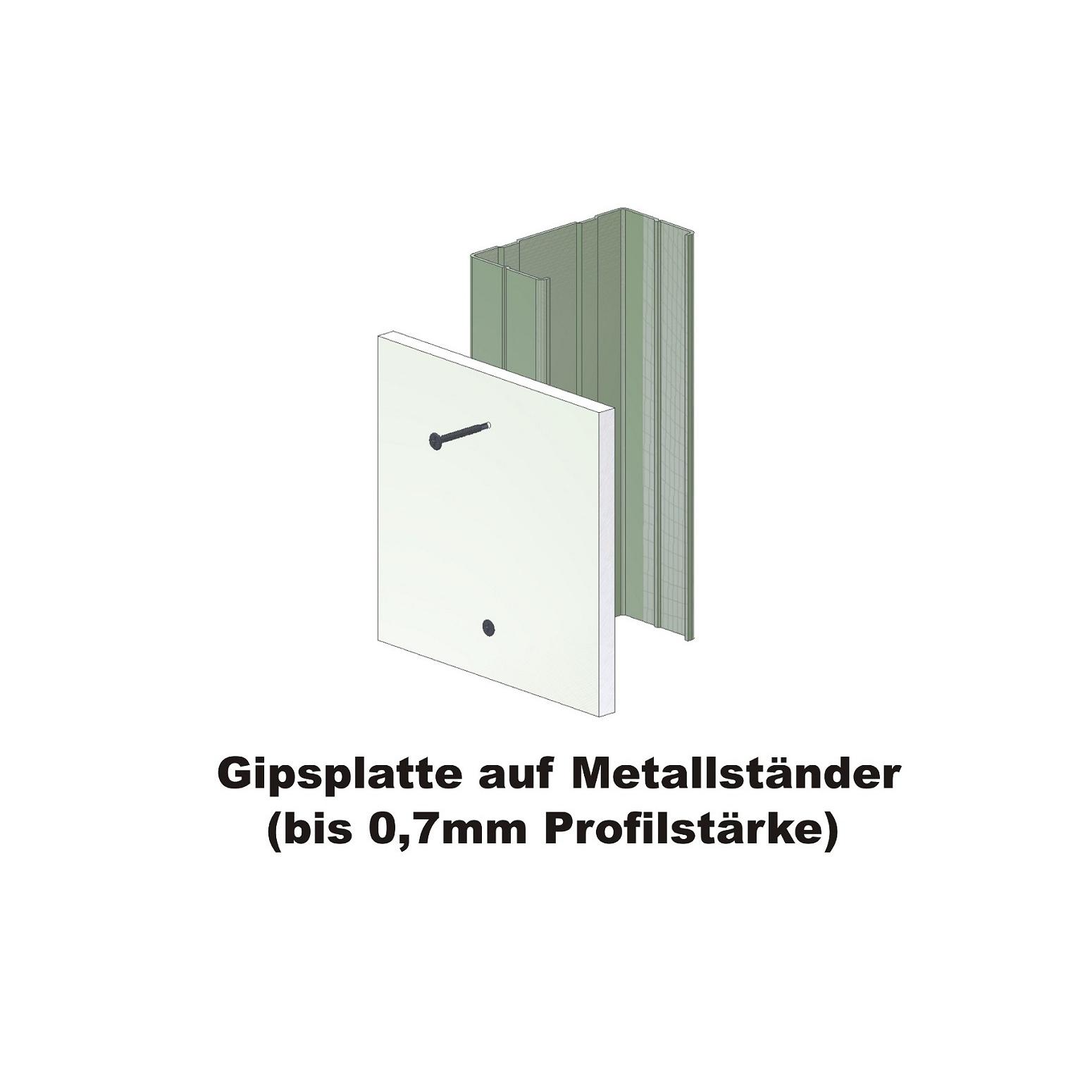 Magazinierte Schnellbauschrauben | phosphatiert | Feingewinde | 3,9x25 | 1.000 Stk